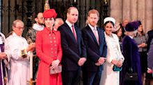 William and Harry 'avoided each other in private for six months after royal wedding'