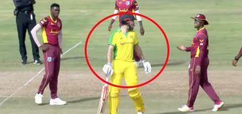 Cricket world erupts over shock Mitch Marsh act