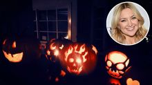 They're Crafty! Kate Hudson, Bethenny Frankel, Steph Curry and More Show Off Their Pumpkins