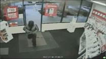 Frightening Radio Shack robbery caught on tape
