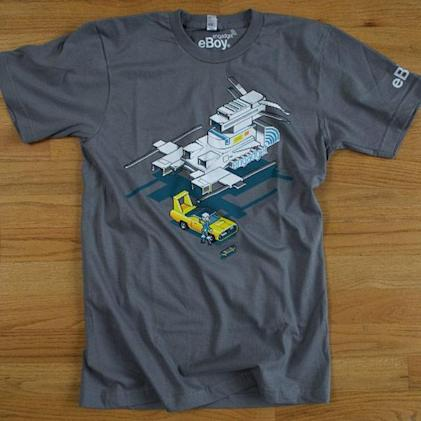 Ultra-limited edition Engadget / eBoy shirts now available! (update: SOLD OUT!)