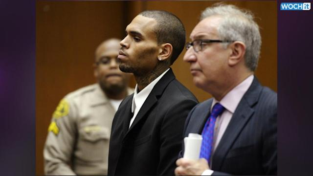 Chris Brown Ordered Back To Rehab For Three Months