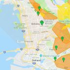 PG&E Power Outage Shut Off: Maps showing Bay Area cities affected by PG&E power shutdown