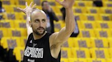 Manu Ginobili nutmegging David West is a thing of beauty and a joy forever