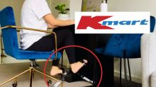 Kmart shopper shows off clever WFH exercise hack: 'Problem solved'