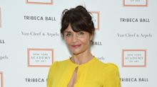 Helena Christensen wows in sexy swimsuit: 'Not bad for a 50-year-old!'