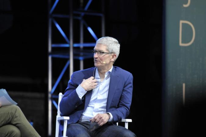 Tim Cook says the new Apple TV is coming next week