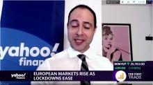 European markets rise as lockdowns ease