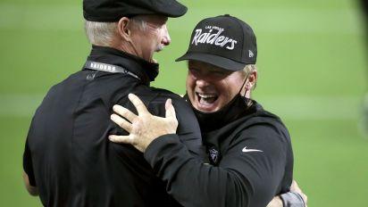 Raiders pull off upset of Saints in Vegas debut