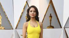 La red no puede contener las bromas contra el vestido amarillo de Eiza González ¿se equivocó de elección?