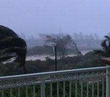 Winds Batter the Bahamas as Hurricane Isaias Approaches Florida Coast