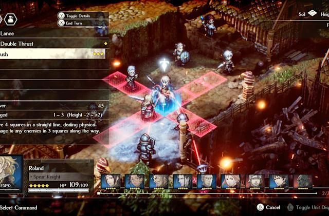 Demo the latest RPG from the makers of 'Octopath Traveler' for free