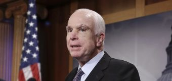 GOP health bill in danger after McCain dissents