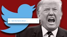 Trump threatens to crack down on social media after Twitter posts a fact check of his tweets on voting by mail