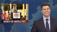 SNL's 'Weekend Update' jokes it's nice to 'see women pay for an hour with Matt Gaetz,' hears out the Titanic's iceberg