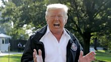 Trump Tells Hurricane Florence Survivor 'At Least You Got A Nice Boat Out Of The Deal'