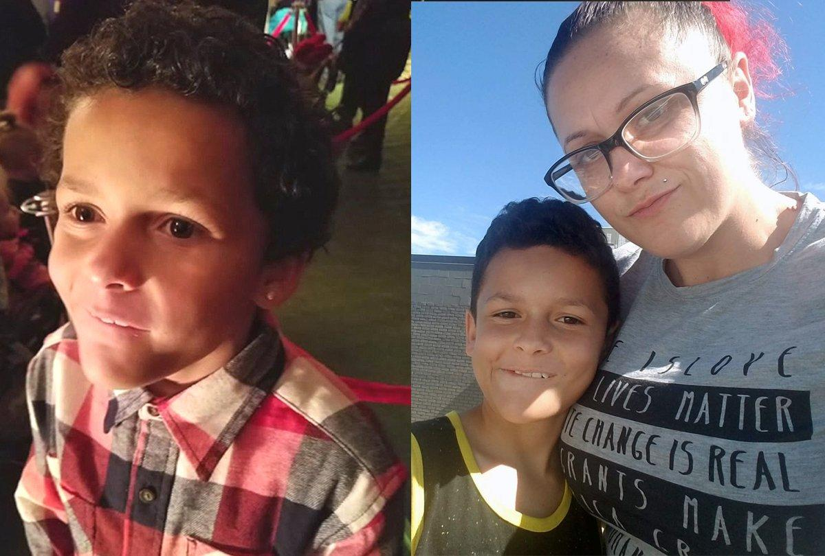 suicidio de un niño de 9 años de edad