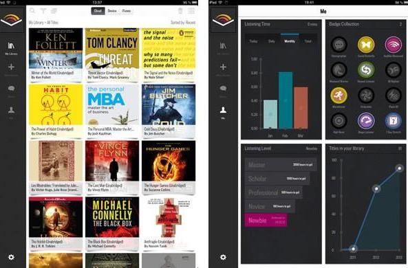 Audible 2.0 for iOS brings long-expected iPad support and a UI overhaul