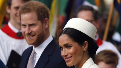 Harry, Meghan relinquish 'royal highness' titles