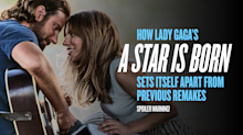 See how Lady Gaga's 'A Star Is Born' evolved from 3 previous versions