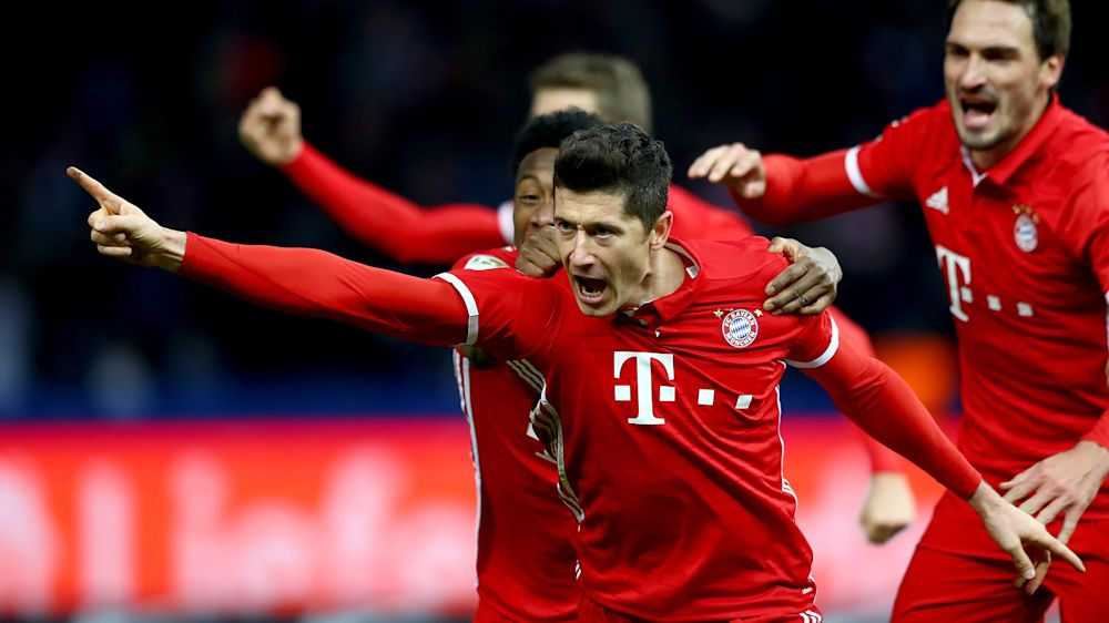 Lewandowski estará ante el Real Madrid