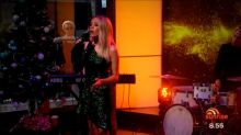 Samantha Jade performs live in studio