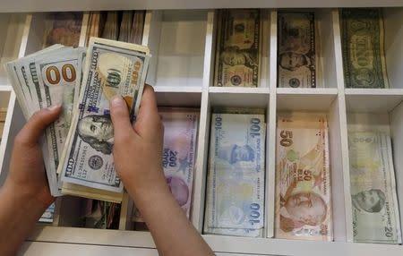 Falls Against Dollar As Weak Exports Bite