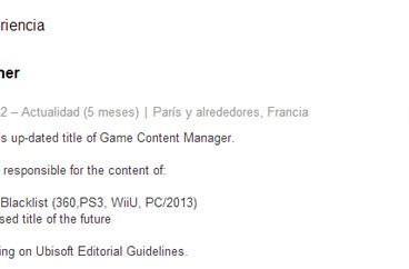 Rumor: Splinter Cell Blacklist Wii U gets its cover blown by employee resume [update]