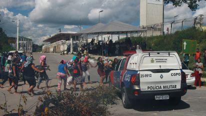 Rebelião em prisão de Manaus deixa 10 mortos