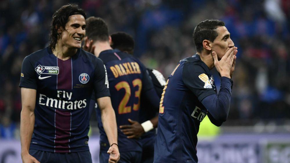 PSG se consagró campeón de la mano de Cavani y Di María