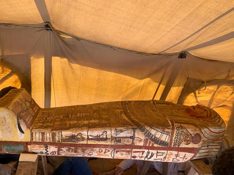 2500-year-old coffins discovered in Egypt