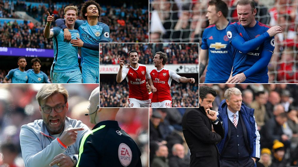 It was another topsy-turvy weekend in the Premier League