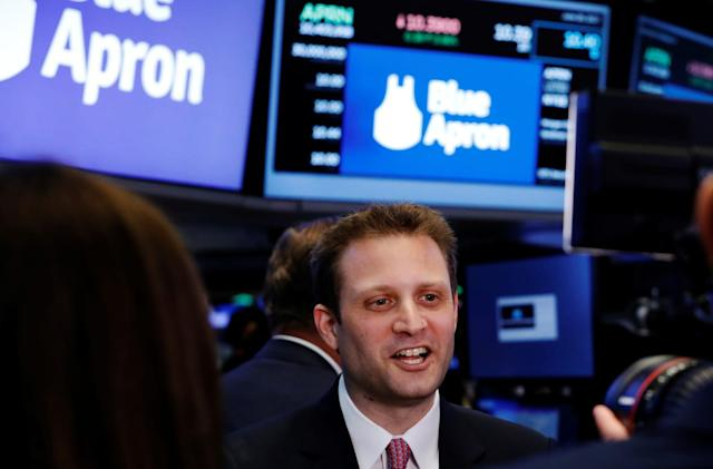 Blue Apron co-founder steps down as CEO