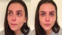 Mônica Iozzi chora ao falar de amigo gay agredido: 'Violência assustadora'