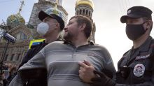 Thousands in Russia's Far East protest governor's arrest