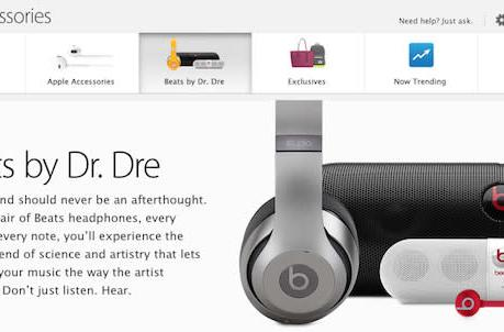 Apple adds Beats accessories section to its online store