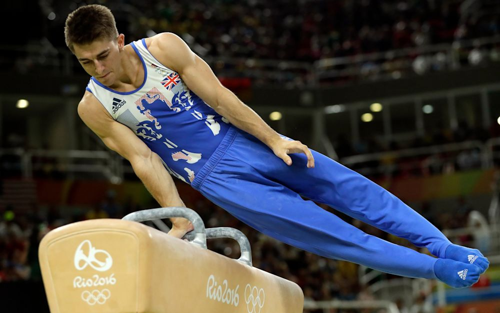 A number of British Olympians, includingMax Whitlock, will be offering their services to the public - Copyright 2016 The Associated Press. All rights reserved. This material may not be published, broadcast, rewritten or redistribu