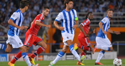 Foot - ESP - 31e j. - Espagne : victorieuse de Gijon, la Real Sociedad retrouve une place européenne