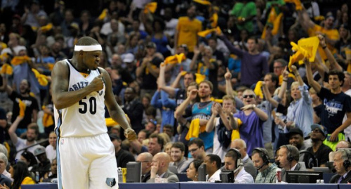 Zach Randolph's reputation for generosity with Memphis fans helped lead to some unfortunate confusion over the weekend. (Getty Images)