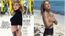 Una espectacular Elsa Pataky vuelve a la portada de Elle España