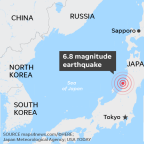 Earthquake rocks Japan, triggering fears of tsunami