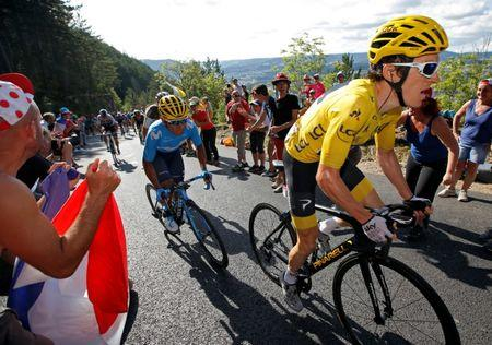 Cycling - Tour de France - The 188-km Stage 14 from  Saint-Paul-Trois-Chateaux to Mende - July 21 51fd50aa3