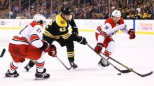 After waiting hours for ice, Bruins, Hurricanes postponed to 11 am