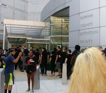 Hundreds Line Up, Dozens Ask To Be Arrested For Destroying Confederate Statue