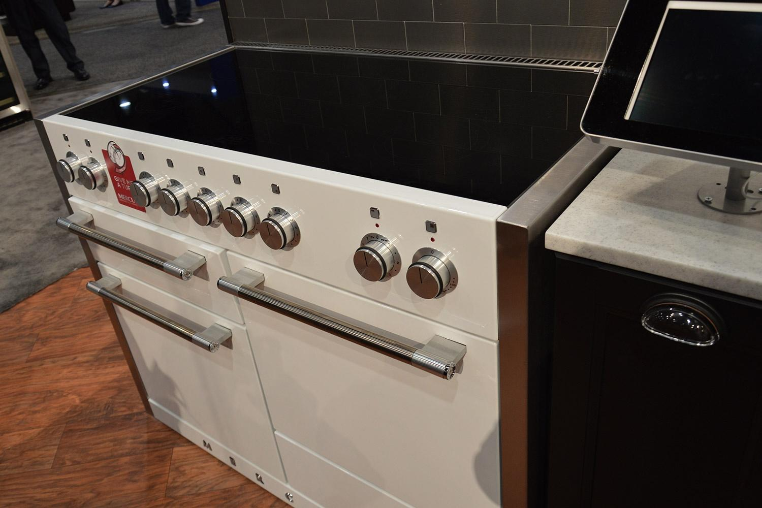 Feel the burn aga introduces a 48 inch induction cooktop for High end induction range