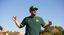 A's players defend bench coach Ryan Christenson after apparent Nazi salute