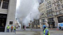 Explota tubo subterráneo de vapor en Manhattan