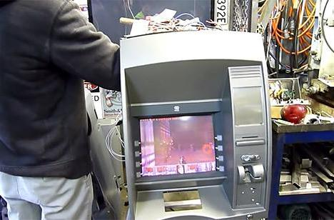 Doom comes to this ATM, courtesy Australian hackers