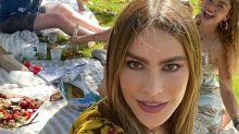 Sofia Vergara enjoys picnic reunion with former 'Modern Family' co-stars Sarah Hyland and Jesse Tyler Ferguson