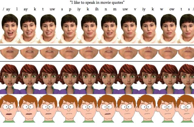 Researchers develop method for real-time speech animation